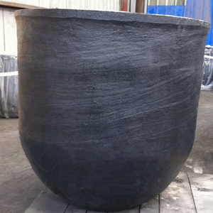 High density cast iron graphite crucible