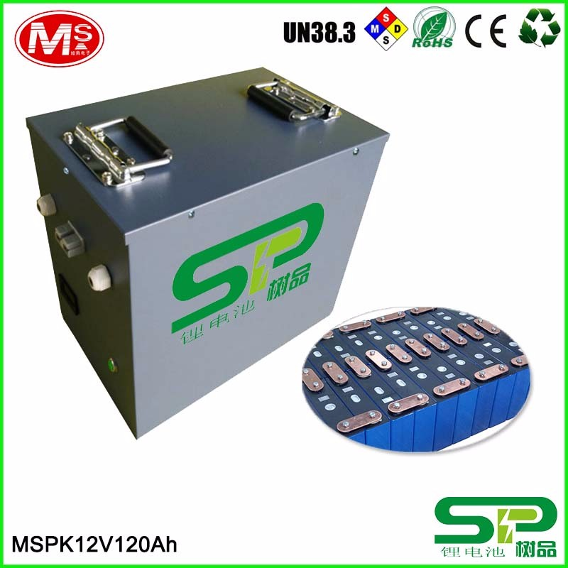 Solar batteries storage 3.2V 120Ah LiFePO4 battery cell for camp out