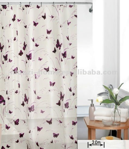 Curtains Ideas butterfly shower curtain : Butterfly Shower Curtain Set, Butterfly Shower Curtain Set ...