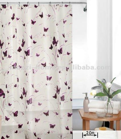 Curtains Ideas butterfly shower curtain : Butterfly Shower Curtain Set, Butterfly Shower Curtain Set ...