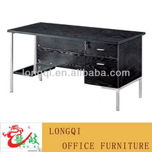 Modern style melamine office staff desk of metal legs M6528