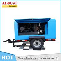 2000 KG ISO14001 piston type air diesel compressor