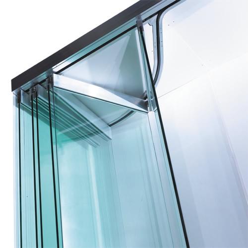 Stacking Slding Design Interior Glass Doors Frameless