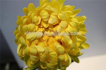 Plastik Krizantem Tek çiçek Ipek çiçek çiçeği Buy Dikey Krizantem