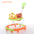 Plastic Round baby walkers with 6 wheels adjustable free baby walker