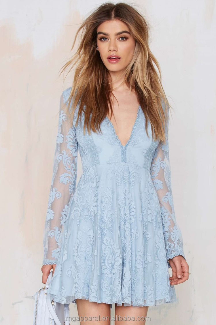 Light Blue Lace Dress | Dress images
