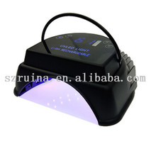 I Believe All Nail Shops Want Supplier 64w gel uv led pro cure cordless rechargeable nail lamp