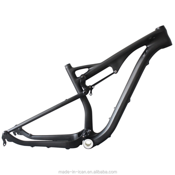 China Full carbon mountain bike parts MTB 29er full carbon suspension frame