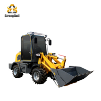 25hp gear drive 4WD multi purpose wheel loader