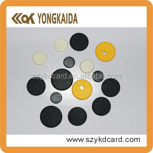 Diameter 20mm/24mm/26mm PPS small button rfid uhf laundry tag