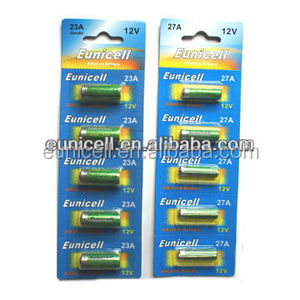 Eunicell Strong light super GP 12V high capacity 23A battery Hot sale Super Alkaline battery 12V 23A