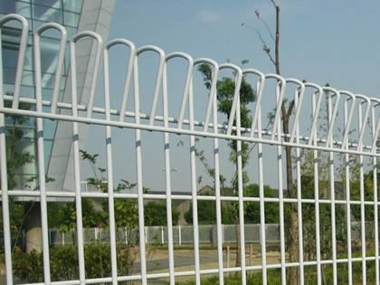 Double Circle Fence Ornamental Double Loop Wire Fence Buy Double