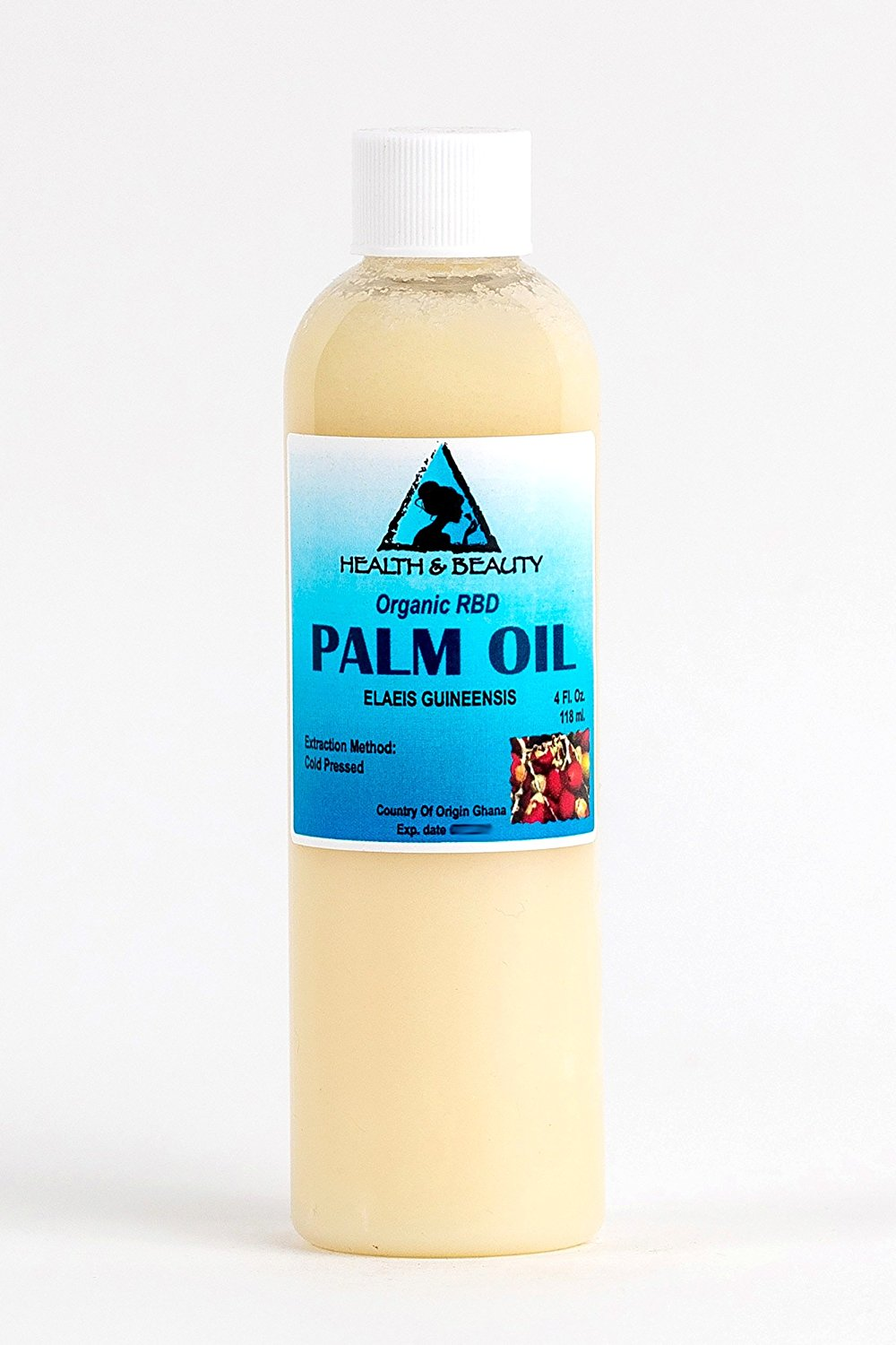 Palm Oil RBD Organic Carrier Cold Pressed Pure 4 oz