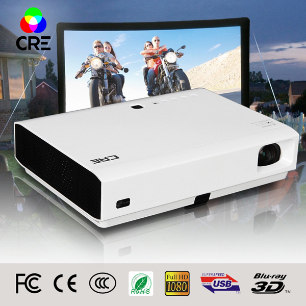 New Upgrade! Unique with wired <strong>internet</strong> interface RJ45 SD card,portable full HD Daytime daylight built-in android Projector