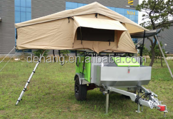 Small Size Off Road Travel Trailer Mini Caravan Camper
