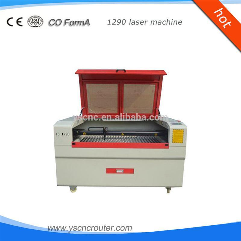 bamboo splitting machine 1200*900mm gsi 200w metalthick wood laser cutting machine ys
