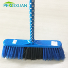 Housekeeping products pvc coated eucalyptus wooden handle broom wholesale broom
