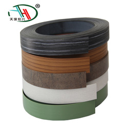 MOQ bajo para accesorios de muebles pequeño comprador pvc borde sólido banda cinta precio