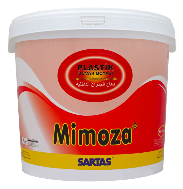 MIMOZA LATEX MATTE INTERIOR WALL PAINT