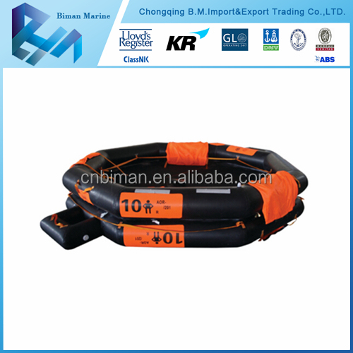 China Supply Ship 12 Persons Marine Life Rafts Price