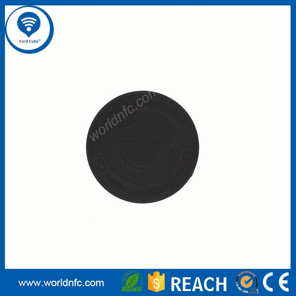 13.56mhz Plastic Small Button Pps Nfc Washable Rfid Laundry Tag ...