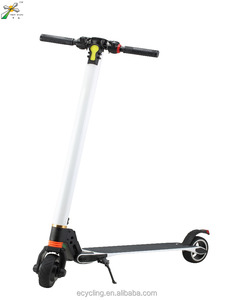 Folding electric scooter price China for adult with round dashboard