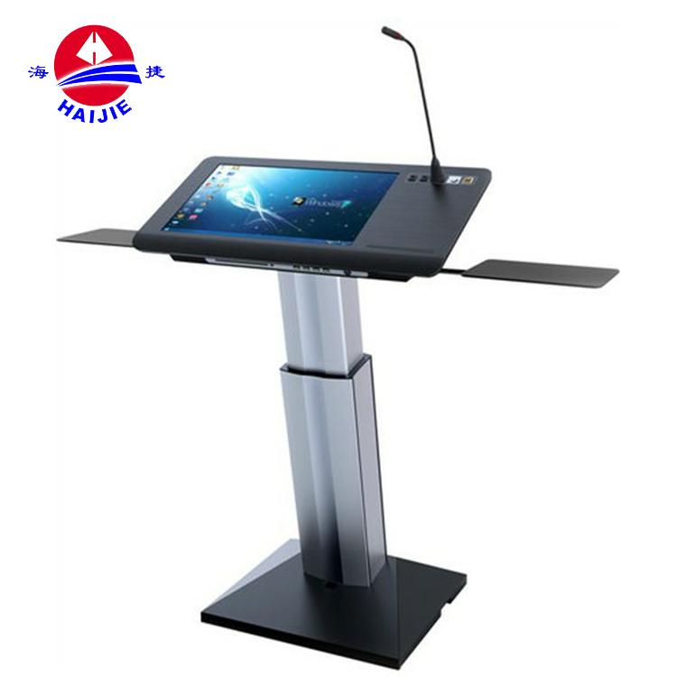 Professional Manufacturer Supplier Smart Classroom Digital Collapsible Modern Designs Church Pulpit Lectern