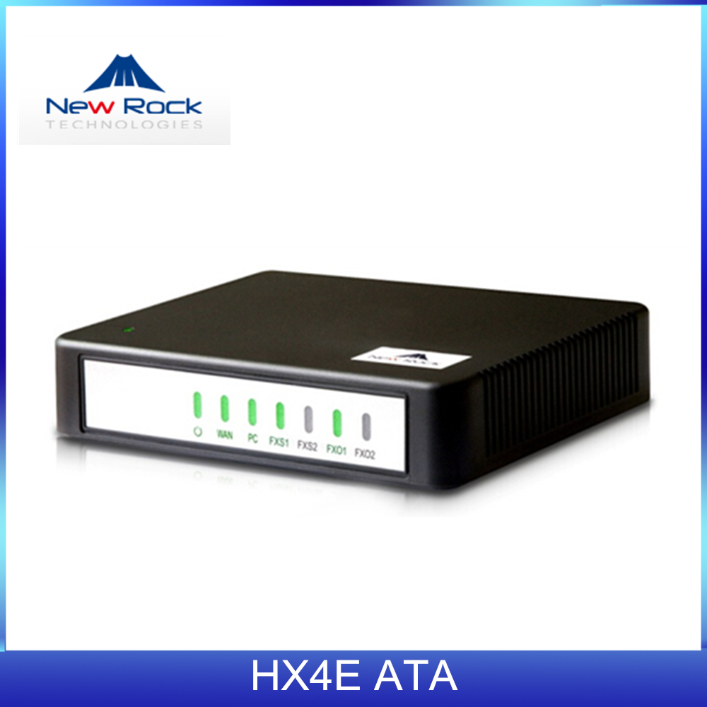 NewRock HX420E 2 FXO VOIP Phone Adapter