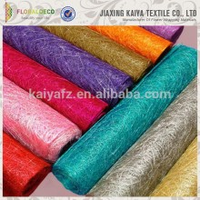 New design cheap colorful nature sisal fiber