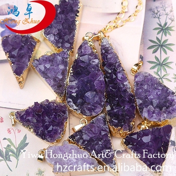 Natural stone point Chakra pendant jewelry crystal gemstone new design tumbled stones