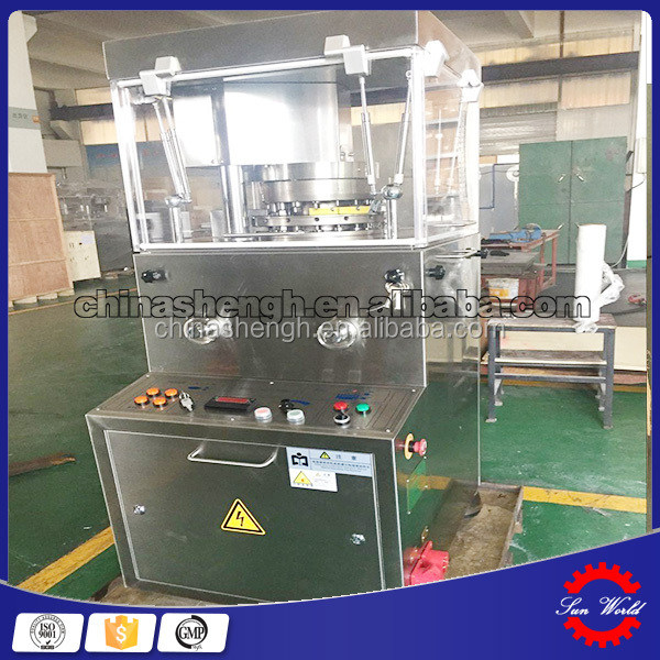 ZP15/17/19 Rotary Tablet Press with Animal head shape punches and die mould
