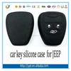 high quality Jeep silicone car key cover for jeep car key