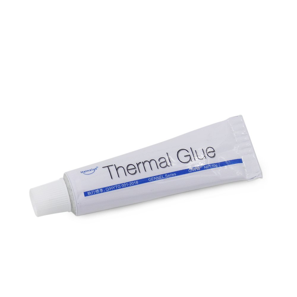 GENNEL Series 10pcs/lot 10g Thermal Conductive Plaster Viscous Adhesive Glue for Heatsink GPU Chip LED Cooling