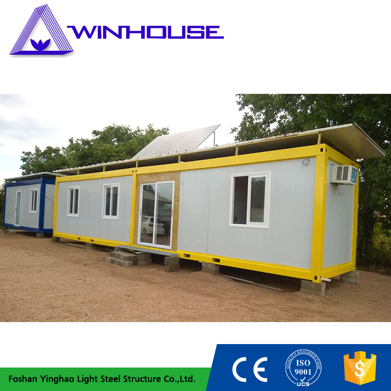 Living Steel Frame Kit Prefab Container Home Without