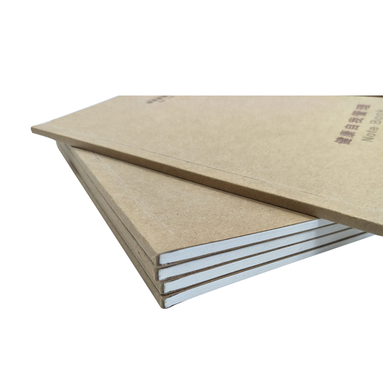 Custom Best Quality Vintage Plain kraft Paper Cover Notebook kraft notebook