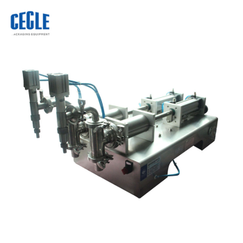 Small F6-5000 e-liquid filling machine/piston sachet filling machine