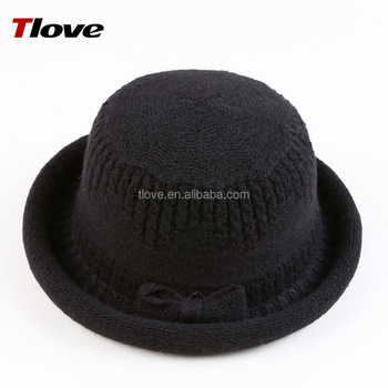 Tlove high quality novelty knitted different types of knit bucket hat  adult 091f6f2a4c9