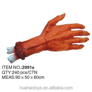 Halloween Party Props Decorations Severed Body Parts Fake Bloody Hand