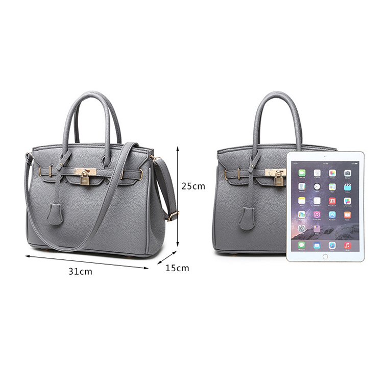 Newest Classical Trend Pu Women Handbag , Lady Handbag