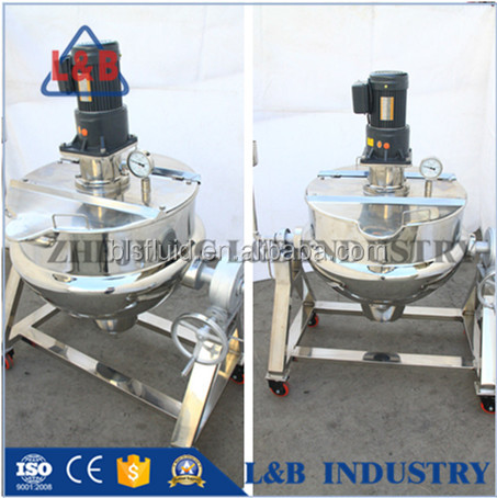 300L Has Heating tilting juice/candy mixing machine from L&B