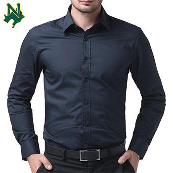 29280ddde10 Wholesale mens slim fit dress shirts no logo dress shirts men Business  v-neck Casual