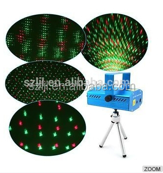 multicolor 5V 1.5A rgb spot lights laser walmart christmas lights indoor