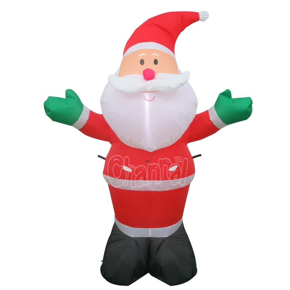 2016 Xmas Inflatable Santa Christmas Decorations Holiday Living ...