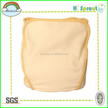 Breathable and waterproof 100% cotton baby diaper