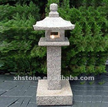 Natural Granite Hand Carved Japanese Style Lantern Outdoor Decorative  Garden Stone Lamps (24 Years Factory) - Buy Garden Stone Lamps,Japanese  Garden