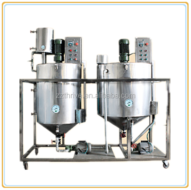 High quality small capacity oil bleaching equipment,edible palm oil refined bleached machinery for vegetable cooking Oil
