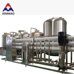 small monoblock water hollow fiber filter /small scale production plant