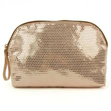 Brilliant Fake Sequin Fabric Cosmetic Pouch Makeup Pouch womotional