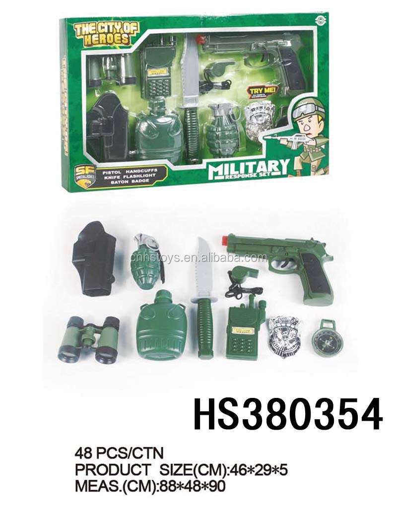 classic small military toys play set