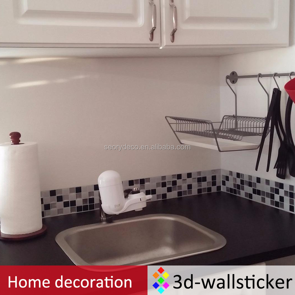 Cheap wholesale do it yourself peel and stick mosaic tile for kitchen and bathroom <strong>walls</strong>